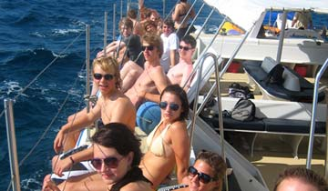 Katamaran Boatparty