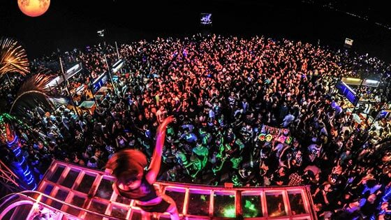 Full Moon Party in Koh Samui