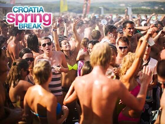 Spring Break Kroatien 2019 Zrce Novalja! Günstig buchen!