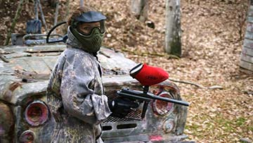 Paintball Prag