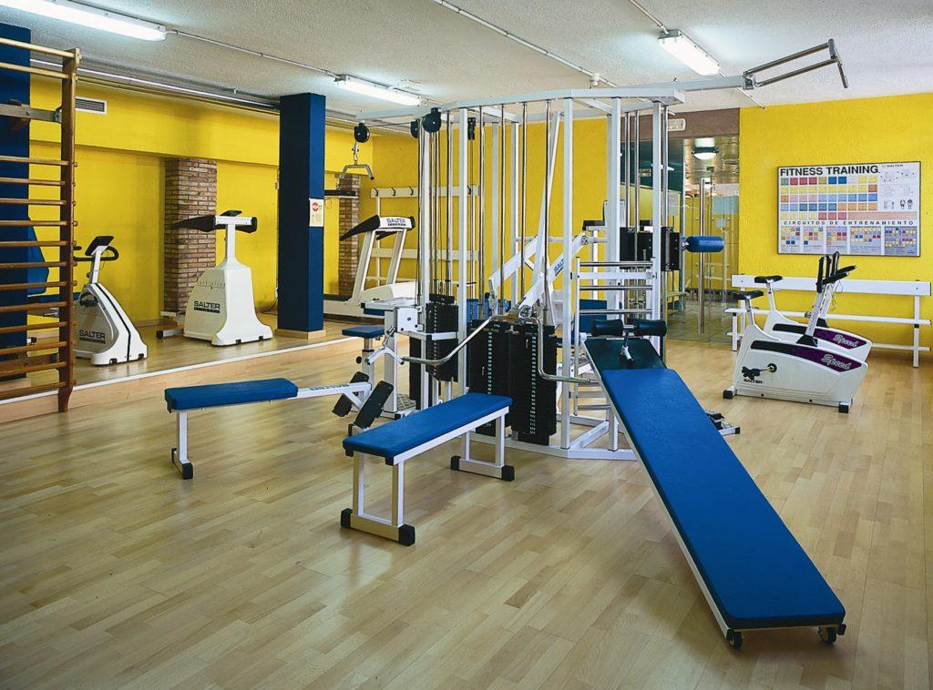 Wie sieht das Fitnesscenter im Hotel Anabel in Lloret de Mar aus