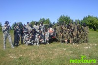 Malgratausflug - Paintball