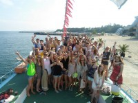 Partyurlaub 2015 am Goldstrand - Partyboot