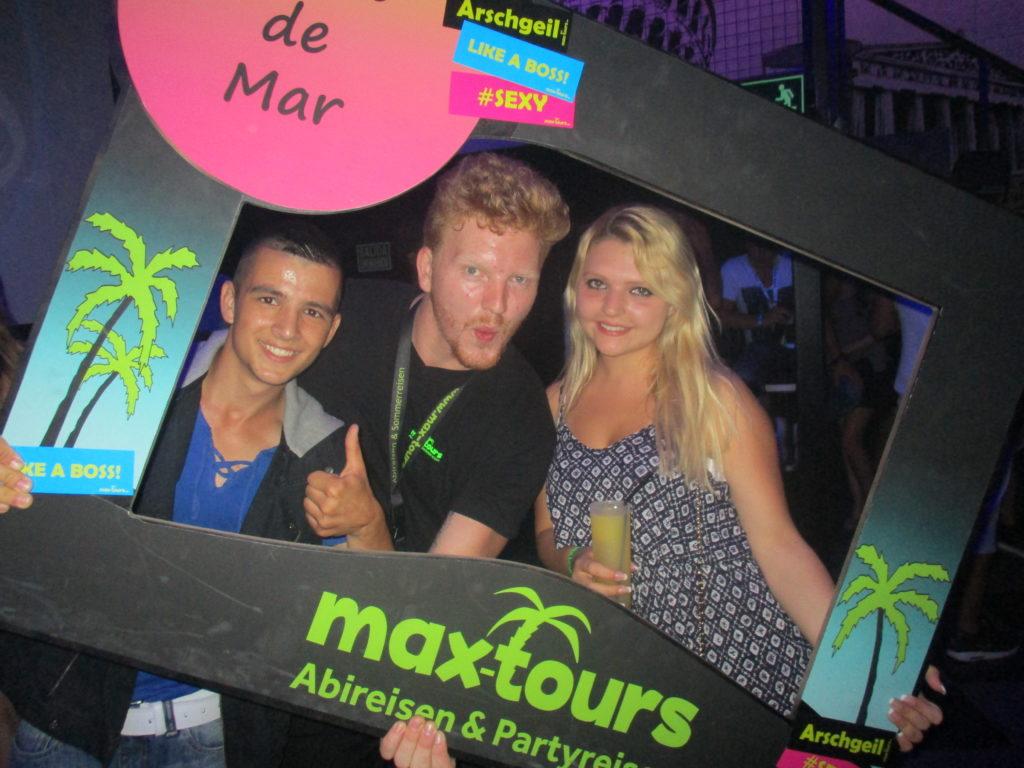 maxtours Teamer mit Gästen